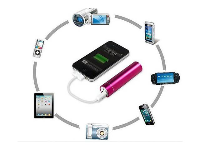 купить бу автономная портативная USB зарядка power bank 2600 в Запорожье