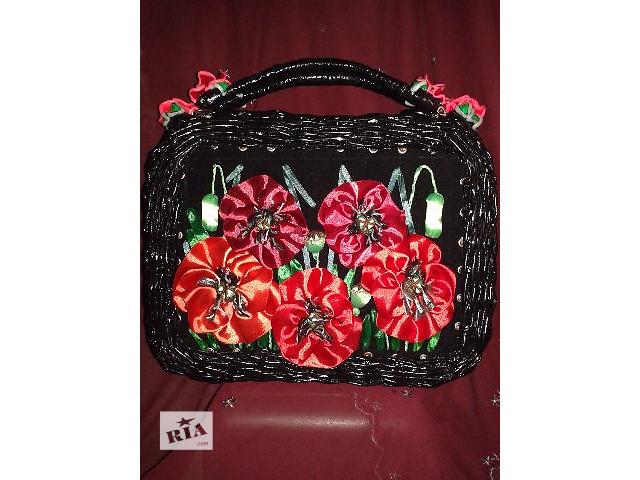 купить бу Авторская коллекционная сумочка ручной работы в Киеве