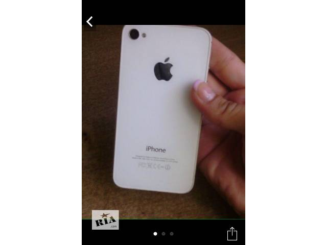 продам Айфон 4s бу в Днепре (Днепропетровск)