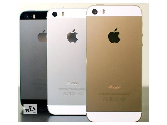 бу Айфон 5 S, 1сим,тепловой дисп 4«,качественная реплика.Черный,Белый,Золотой в Одессе