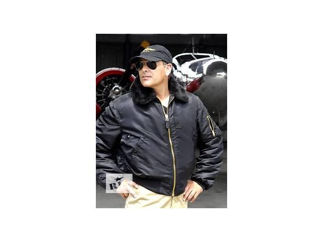купить бу B-15 Slim Fit Alpha Industries™ мужская летная куртка слим фит (Альфа индастриз) в Киеве