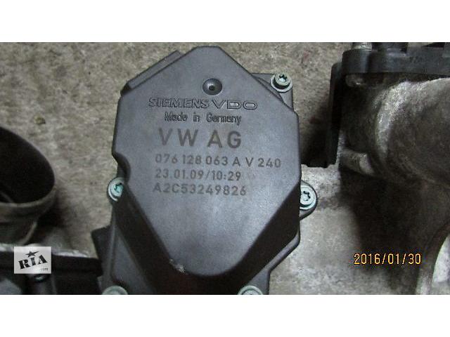 продам Б/у 076128063A дросельная заслонка/датчик для легкового авто Volkswagen Caravella 2008 бу в Хусте