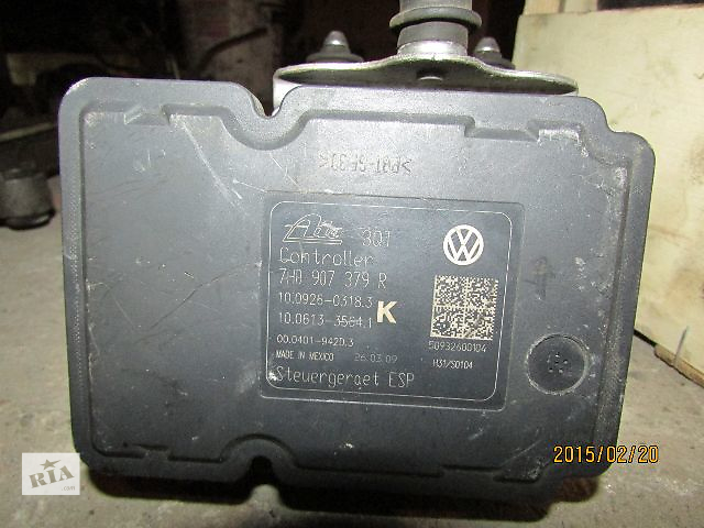 бу Б/у абс 7H0907379R 7H0614517B и датчики для легкового авто Volkswagen T5 (Transporter) 2008 в Виноградове