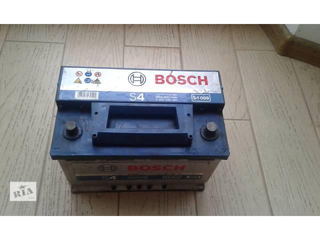 продам Б/у аккумулятор акамулятор BOSCH 72 Ah бу в Львове