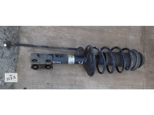 бу Б/у амортизатор передний левый 48520-0D010 для хэтчбека Toyota Yaris 2007г в Николаеве