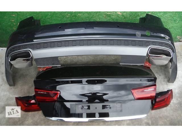 купить бу Б/у Audi A6 C7 4G S-Line Лифтинг седан бампер лампы в Львове