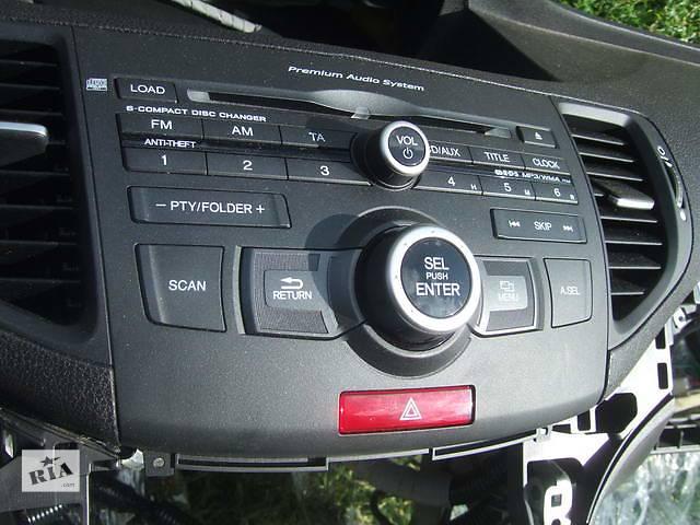 купить бу Б/у автомагнитола для легкового авто Honda Accord в Ровно