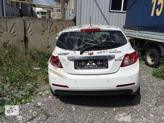 купить бу Б/у багажник для хэтчбека Geely Emgrand EC7-RV 2013 в Бахмуте (Артемовск)