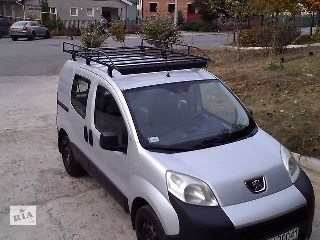 купить бу Б/у багажник для перевозки негабаритных грузов Оригинал Франция Fiat Fiorino Qubo Nemo Bipper в Хмельницком