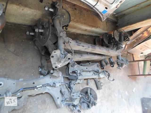 купить бу Б/у Балка передней/задней подвески для Renault Kangoo Кенго 1,5 DCI К9К 2008-2012 в Рожище