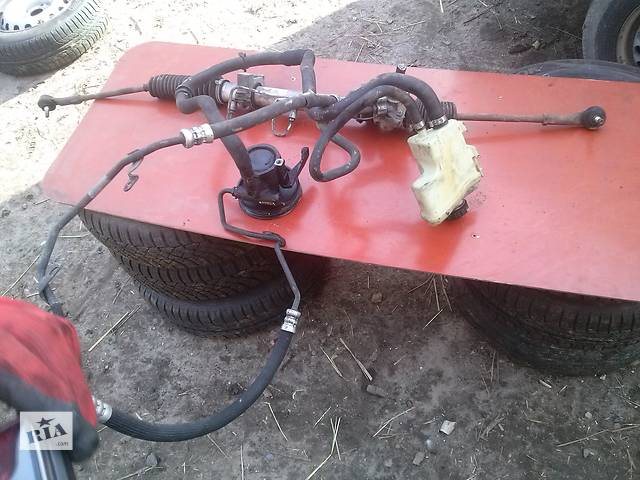 купить бу Рейка рулевая 1,5 для Рено канго кенго RENAULT Kangoo '2000-08 в Ковеле