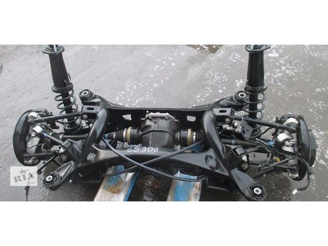 купить бу Б/у балка задней подвески 51206-30080 для седана Lexus GS 300 2007г в Николаеве