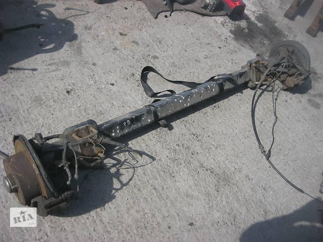 бу Б/у балка задней подвески в сборе Fiat Ducato 2006- в Ровно