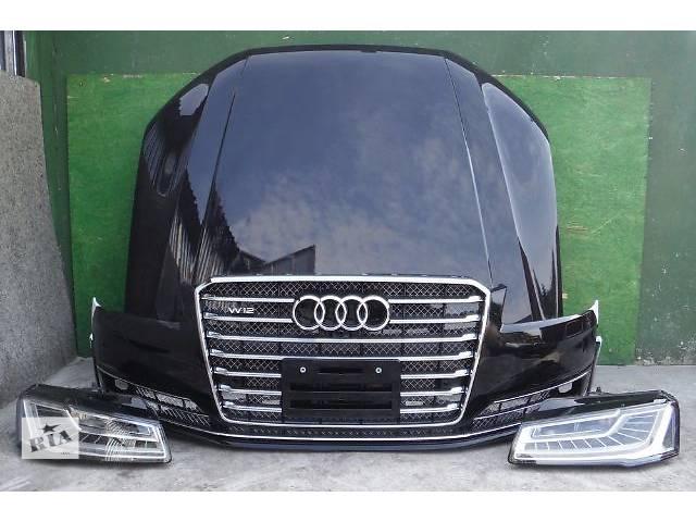 Б/у бампер, капот, радиаторы, фары, решетка, крылья Audi A8 D2 D3 D4- объявление о продаже  в Харькове