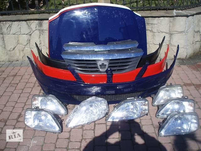 бу Б/у бампер передній для легкового авто Renault  Dacia Logan в Львове