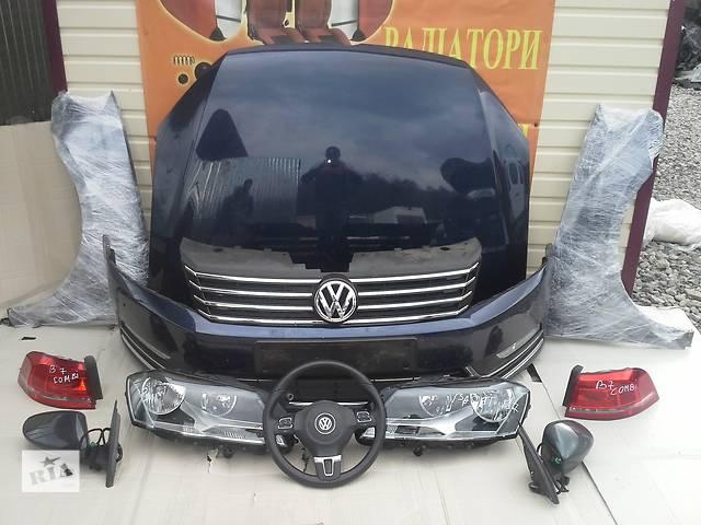 купить бу Б/у бампер передній для легкового авто Volkswagen Passat B7 2014 в Львове
