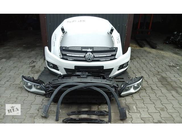 бу Б/у бампер передний для минивена Volkswagen Tiguan 2011-2015 в Львове
