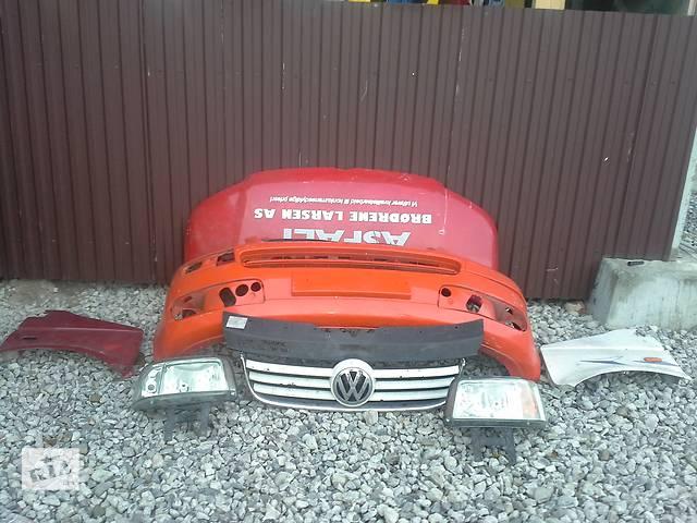 бу Б/у бампер  передний ДЕФЕКТ НЕДОРОГО для легкового авто Volkswagen T5 (Transporter) в Львове