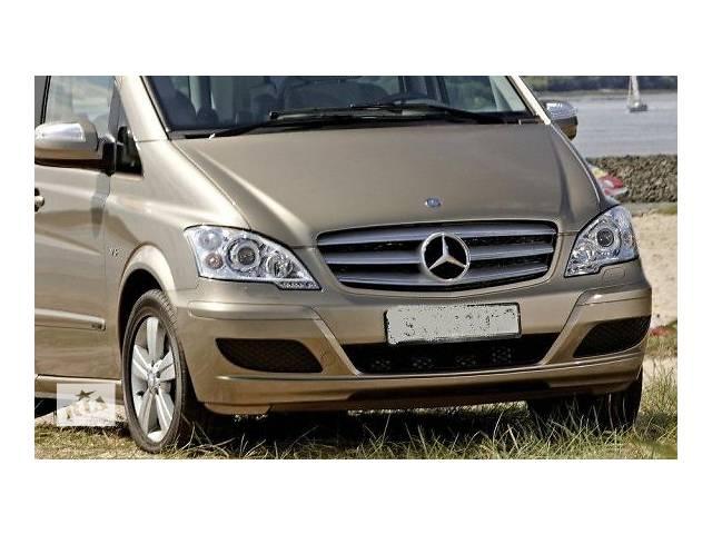 купить бу Б/у бампер передний для автобуса Mercedes 639 lift Viano Vito LIFT led морда комплектная запчасти в Львове