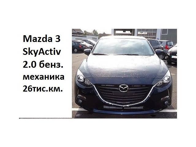 Б/у бампер передний для хэтчбека Mazda 3- объявление о продаже  в Золочеве (Львовской обл.)