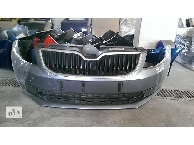продам Б/у бампер передний для хэтчбека Skoda Octavia A7 бу в Пустомытах (Львовской обл.)