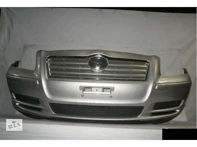 бу Б/у бампер передний для хэтчбека Toyota авенсис 2005год в Одессе