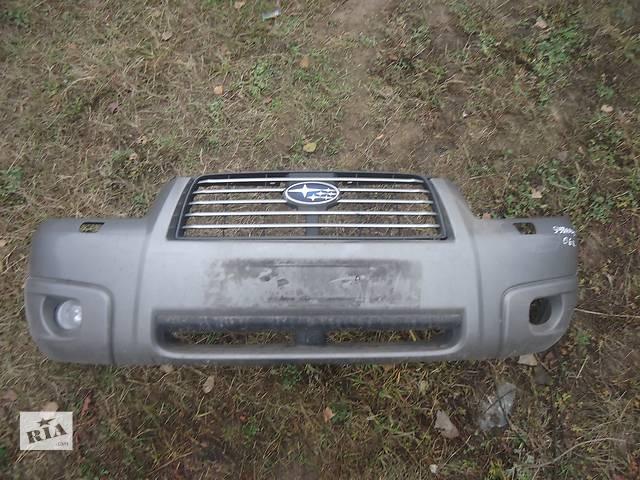 Б/у бампер передний для кроссовера Subaru Forester- объявление о продаже  в Киеве
