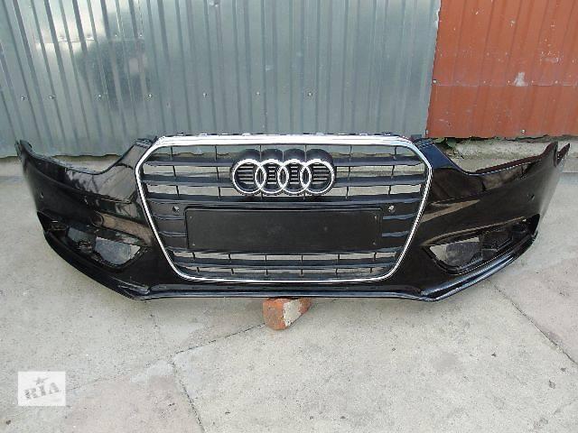 бу Б/у бампер передний для легкового авто Audi A4 2014 ДЕШЕВО В НАЛИЧИИ!!! в Львове