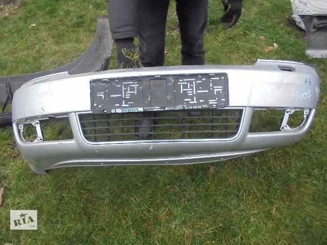 Б/у бампер передний для легкового авто Audi A6 2003- объявление о продаже  в Львове
