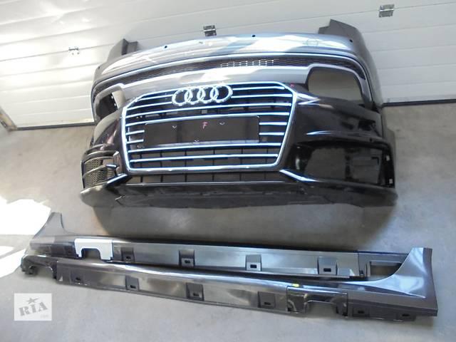 бу Б/у бампер передний для легкового авто Audi A6 c7 s-line 2015 в Ужгороде