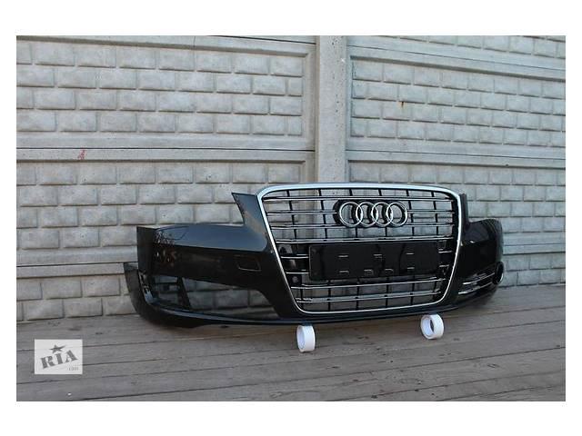 продам Б/у бампер передний для легкового авто Audi A8 бу в Ужгороде