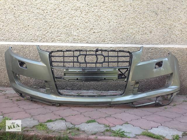 Б/у бампер передний для легкового авто Audi Q7- объявление о продаже  в Ивано-Франковске