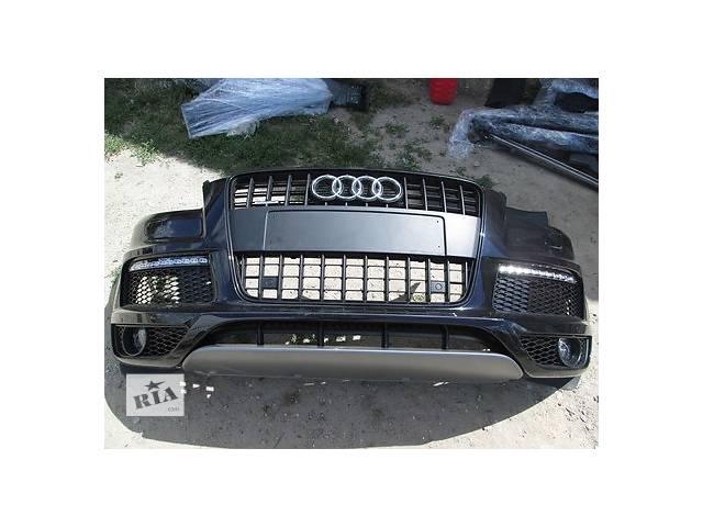 продам Б/у бампер передний для легкового авто Audi Q7 бу в Ужгороде