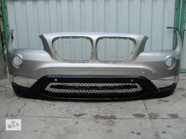 купить бу Б/у бампер передний для легкового авто BMW X1 РЕСТАЛ ДЕШЕВО В НАЯВНОСТІ!!! в Львове