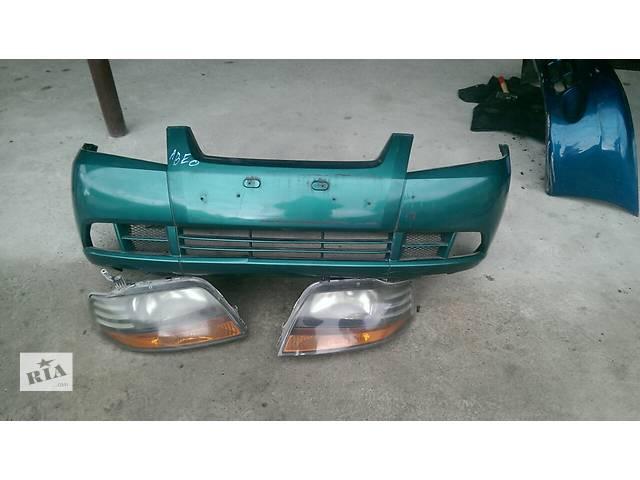 купить бу Б/у бампер передний для легкового авто Chevrolet Aveo 04-06 в Львове
