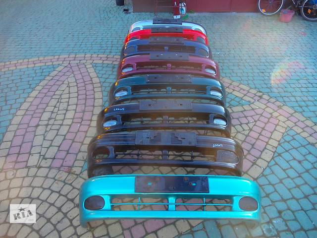 продам Б/у бампер передний для легкового авто Daewoo Lanos бу в Тернополе