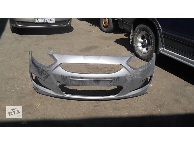 продам Б/у бампер передний для легкового авто Hyundai Accent бу в Киеве