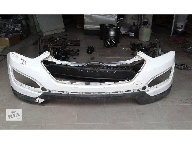 Б/у бампер передний для легкового авто Hyundai Santa FE 2013- объявление о продаже  в Костополе