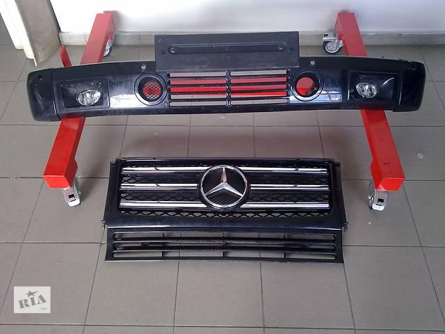 купить бу Б/у бампер передний для легкового авто Mercedes G 55 AMG в Киеве