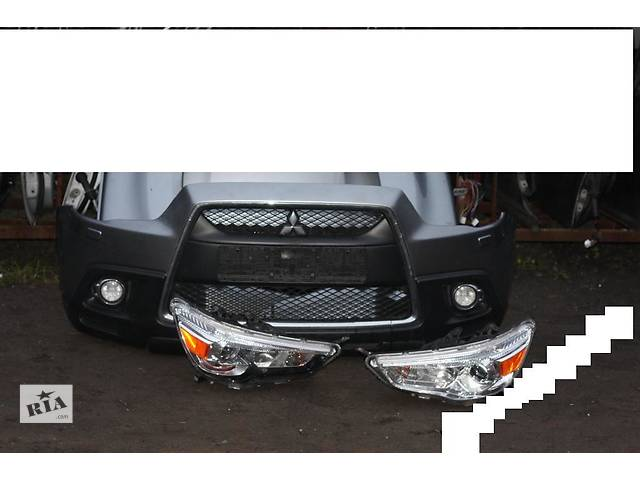 продам Б/у бампер передний для легкового авто Mitsubishi ASX бу в Здолбунове