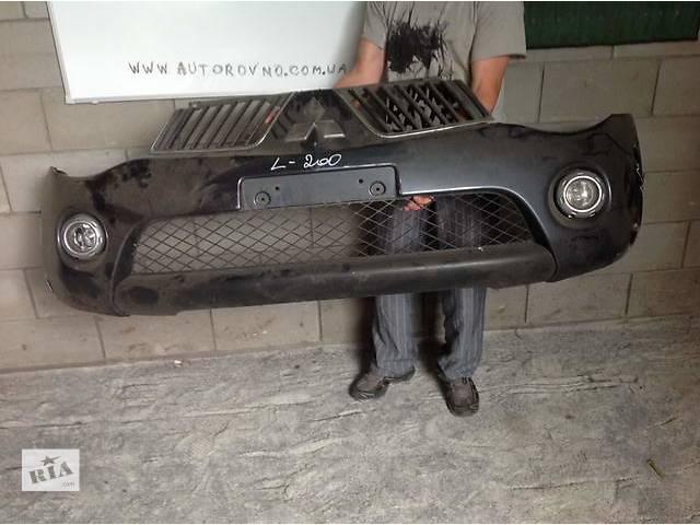 Б/у бампер передний для легкового авто Mitsubishi L 200- объявление о продаже  в Ровно