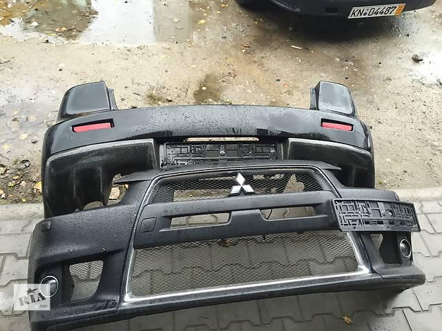 продам Б/у бампер передний для легкового авто Mitsubishi Lancer Evolution X бу в Ровно
