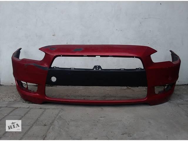 продам Б/у бампер передний для легкового авто Mitsubishi Lancer X 2007-2012 бу в Львове