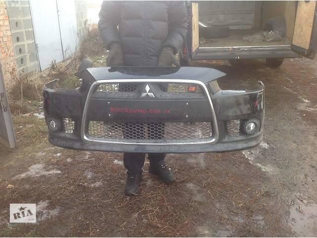 Б/у бампер передний для легкового авто Mitsubishi Lancer X Ralliart- объявление о продаже  в Ровно