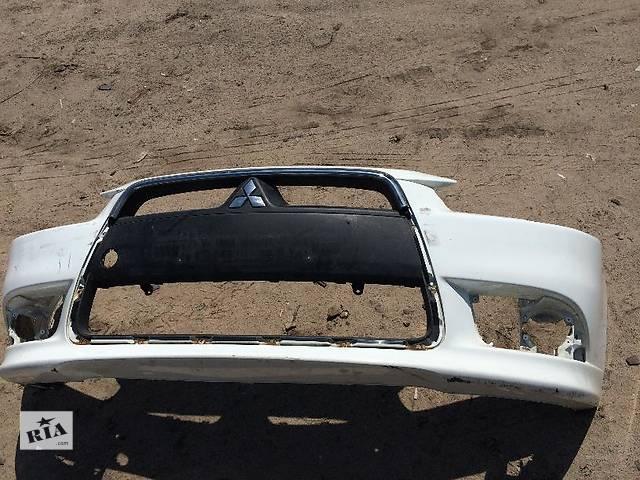 купить бу Б/у бампер передний для легкового авто Mitsubishi Lancer X в Киеве