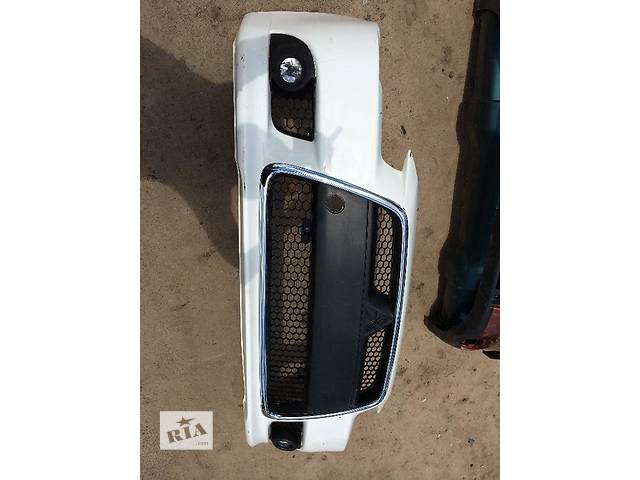 продам Б/у бампер передний для легкового авто Mitsubishi Lancer X бу в Киеве