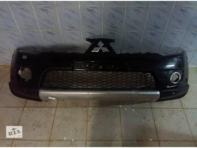 купить бу Б/у бампер передний для легкового авто Mitsubishi Pajero Sport 2010-2014 в Львове