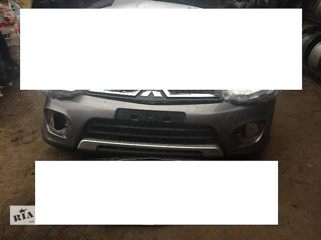продам Б/у бампер передний для легкового авто Mitsubishi Pajero Sport бу в Киеве