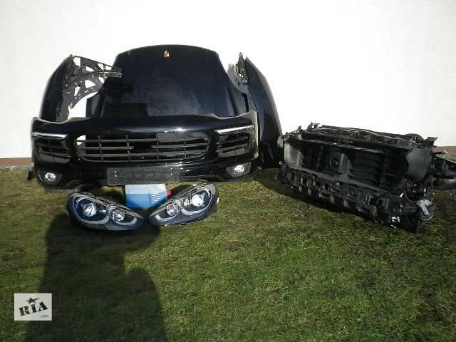 Б/у бампер передний для легкового авто Porsche Cayenne 04-15 морда комплектная запчасти- объявление о продаже  в Львове