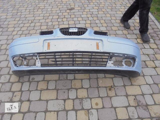 продам Б/у бампер передний для легкового авто Seat Ibiza 2003 бу в Львове